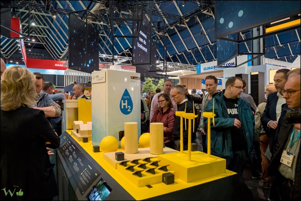 Veel belangstelling voor waterstof cv ketel Remeha