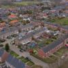 jaren 70 woonwijk in Wagenborgen aan de waterstof